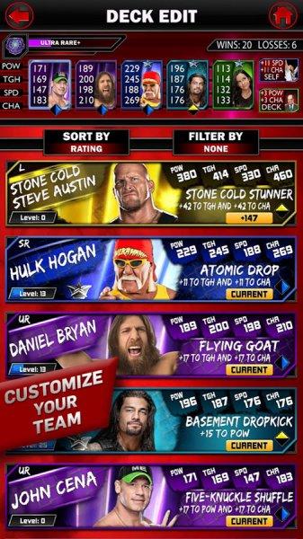 Взлом WWE SuperCar