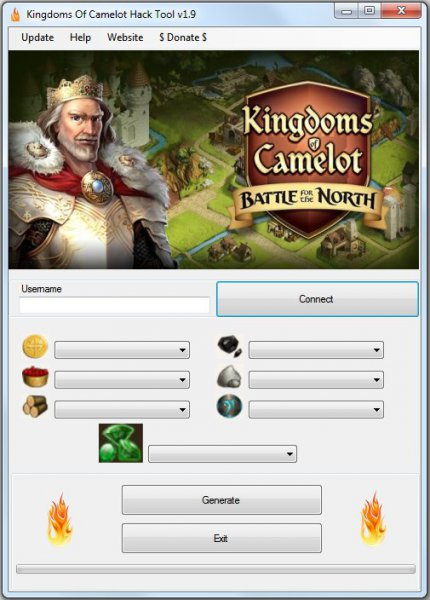 Чит на Kingdoms of Camelot: Battle for the North