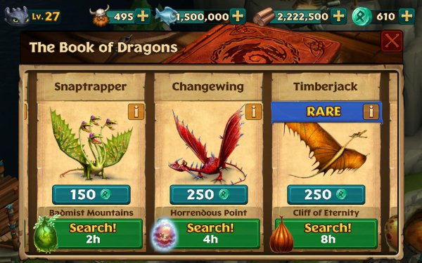 Взлом Dragons: Rise of Berk