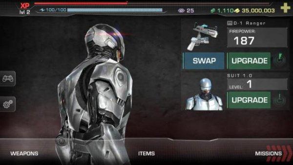 Взлом игры Robocop
