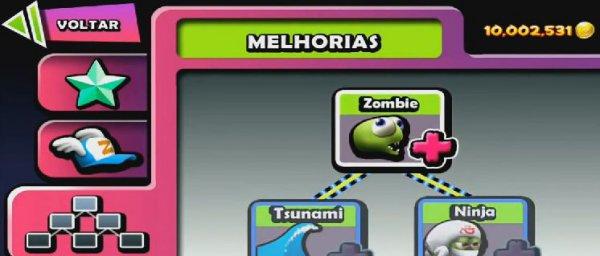 скачать взломанную Zombie Tsunami