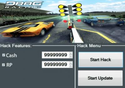 как взломать Drag Racing