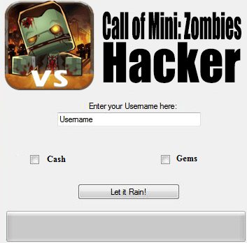 ВЗЛОМ Call of Mini: Zombies. ЧИТ на золото, кристаллы, ваучеры.