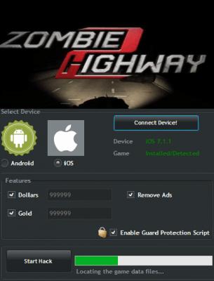 ВЗЛОМ Zombie Highway 2. ЧИТ на монеты и деньги.