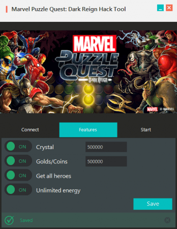 ВЗЛОМ Marvel Puzzle Quest. ЧИТ на кристаллы и золотые монеты.