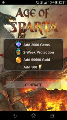 взлом Age of Sparta