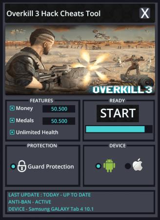 ВЗЛОМ Overkill 3. ЧИТ на деньги и медали.
