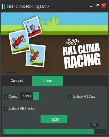 Взломанный Hill Climb Racing