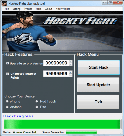 ВЗЛОМ Hockey Fight. ЧИТ на зубы.