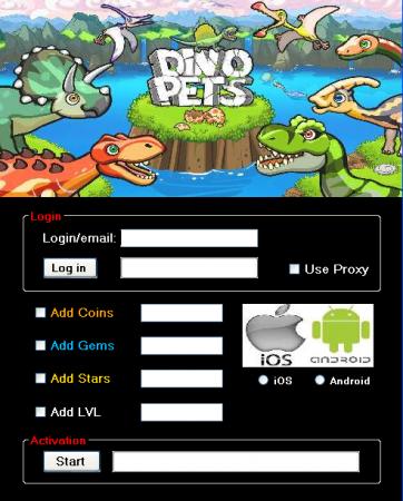 ЧИТ Dino Pets. ВЗЛОМ на монеты, кристаллы, звезды, уровень.