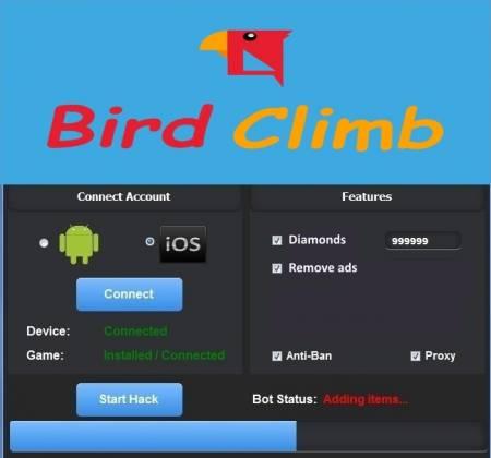 ВЗЛОМ Bird Climb - Птичий подъем. ЧИТ на алмазы.