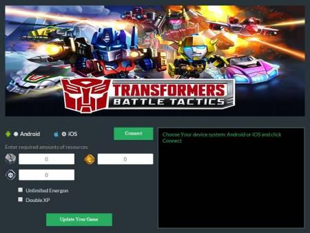 ВЗЛОМ TRANSFORMERS: Battle Tactics. ЧИТ на золото и деньги.