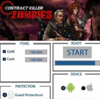 ВЗЛОМ Contract Killer Zombies. ЧИТ на золото и деньги.