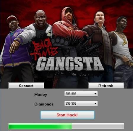 ВЗЛОМ Big Time Gangsta. ЧИТ на деньги и алмазы.