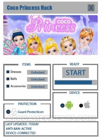 ВЗЛОМ Coco Princess. ЧИТ на на платья, аксессуары, баллы.
