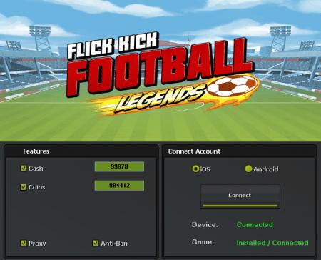 ВЗЛОМ Flick Kick Football Legends. ЧИТ на монетки и деньги.