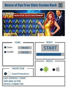ВЗЛОМ House of Fun Free Slots Casino - Игровые Автоматы House Of Fun! ЧИТ на монетки, кредиты.