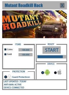 ВЗЛОМ Mutant Roadkill. ЧИТ на монетки, золото.