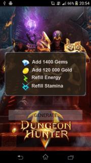 ВЗЛОМ Dungeon Hunter 5. ЧИТ на золото, кристаллы.