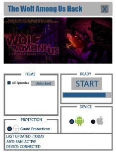ВЗЛОМ The Wolf Among Us. ЧИТ на открытие всех эпизодов.