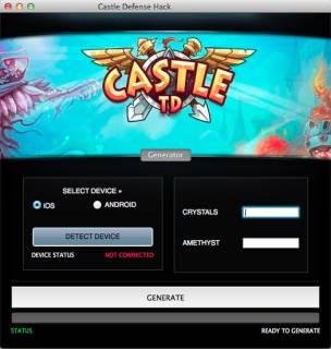ВЗЛОМ Castle Defense 2. ЧИТ на кристаллы и ресурсы.