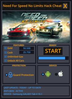 need for speed no limits как вводить читы на ios