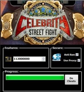 ВЗЛОМ Celebrity Street Fight. ЧИТ на ресурсы.