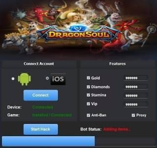 ВЗЛОМ DragonSoul RPG. ЧИТ на кристаллы, энергия, золото.