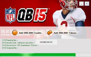 ВЗЛОМ NFL Quarterback 15. ЧИТ на деньги и жетоны.