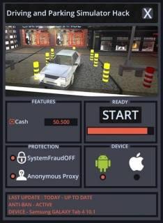 ВЗЛОМ Driving and Parking Simulator - Реальный трафик парковка. ЧИТ на