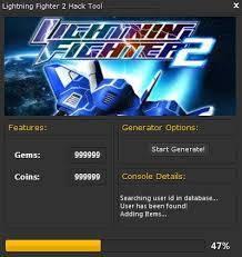 ВЗЛОМ Lightning Fighter 2. ЧИТ на золото и кристаллы.