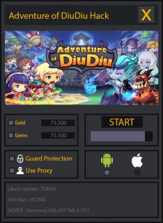 ВЗЛОМ Adventure of DiuDiu. ЧИТ на золото и кристаллы.
