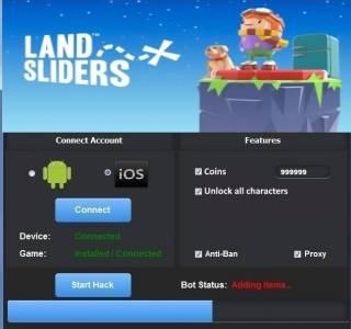 ВЗЛОМ Land Sliders. ЧИТ на деньги.