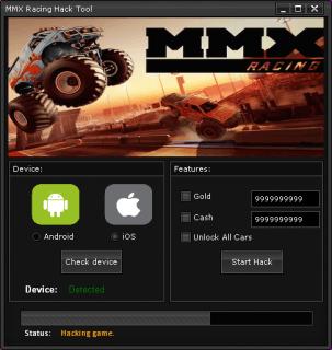 ВЗЛОМ MMX Racing. ЧИТ на деньги и золото.