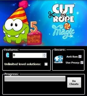 ВЗЛОМ Cut the Rope: Magic. ЧИТ на кристаллы.