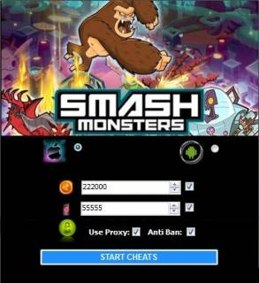 ВЗЛОМ Smash Monsters. ЧИТ на золото.