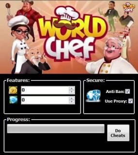 скачать чит для World Chef