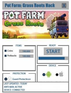 ВЗЛОМ Pot Farm - Grass Roots. ЧИТ на монеты и деньги.