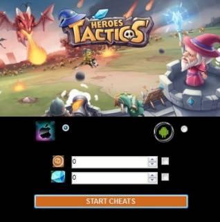 ВЗЛОМ Heroes Tactics: PvP-стратегия. ЧИТ на золотые монеты и кристаллы.