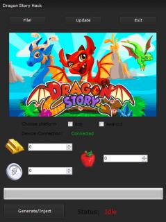 ВЗЛОМ Dragon Story | История драконов. ЧИТ на золото и серебро.
