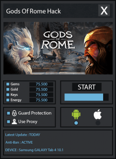 как взломать Gods of Rome