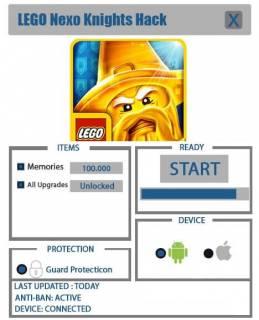 взломанный LEGO NEXO KNIGHTS