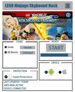 ВЗЛОМ LEGO Ninjago: Skybound. ЧИТ на ресурсы и звезды.
