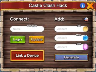 взлом Castle Clash андроид