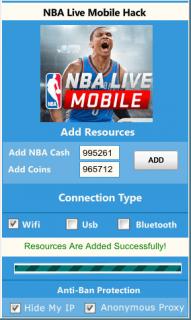 ВЗЛОМ NBA LIVE Mobile. ЧИТ на монеты и деньги.