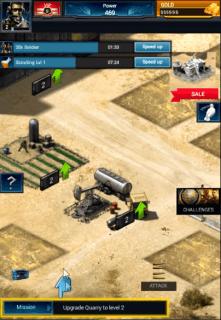 mobile strike золото