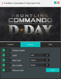 Чит на Frontline Commando: Normandy - D Day