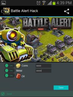 Секреты Battle Alert: War of Tank