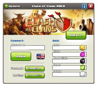 взлом clash of clans