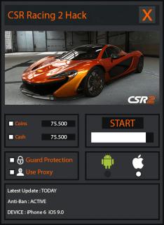 ЧИТ CSR Racing 2